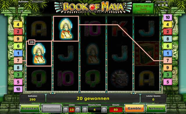 book of maya spielen