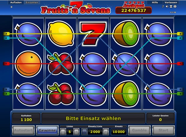 fruits n sevens online free