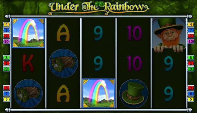 under the rainbow spielen