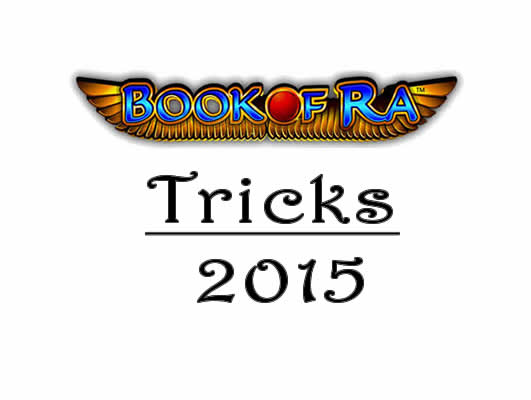 tricks für book of ra online