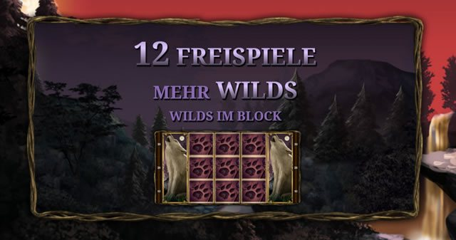 12 Freispiele Night Wolves