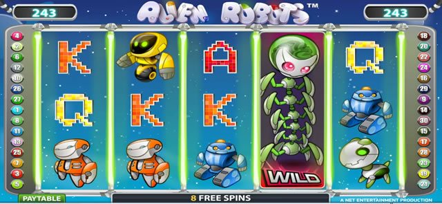 alien robots feature