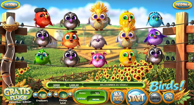 Birds Spiel Betsoft Gaming