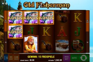 Bonus Spiele Old Fisherman