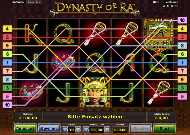 dynasty of ra spielen