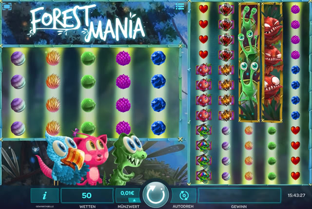 Forest Mania Spielautomat