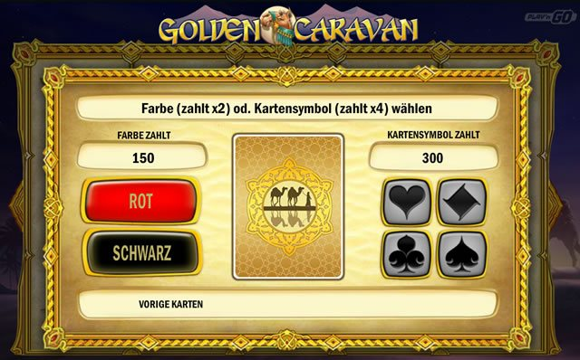Golden Caravan Risiko