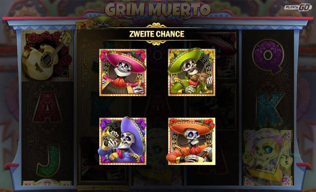 Grim Muero Zweite Chance Feature