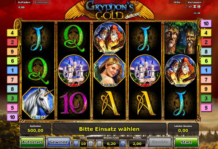 Free slot gryphons gold