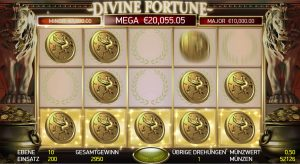 Jackpot Game Divine Fortune