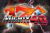 mighty 40 spielen