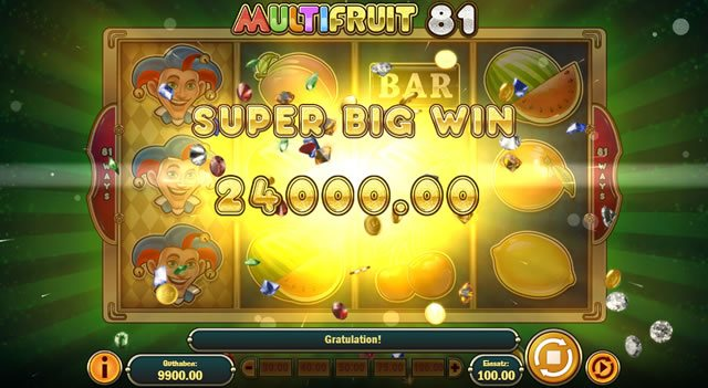 Multi Fruit 81 Super Big Win