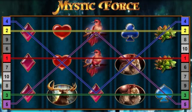mystic force spielautomat
