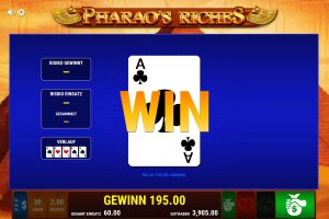 Pharaos Riches Gamble
