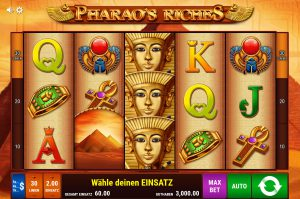 Pharaos Riches Start