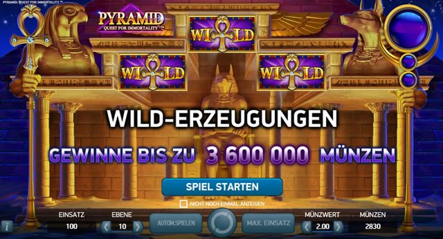 pyramid quest for immortality spielen