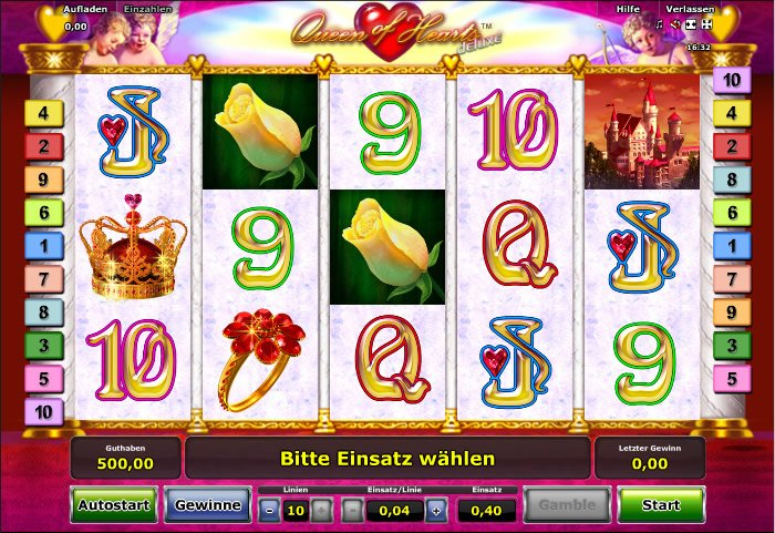 europa casino online queen of hearts online spielen