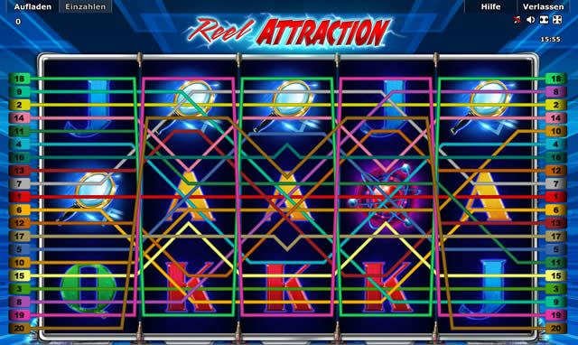 Reel Attraction Gewinn Linien