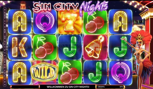 Sin City Nights Spielautomat