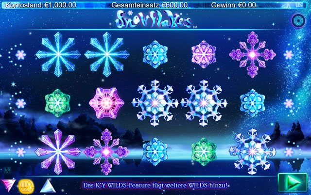 Snowflakes Spielautomat