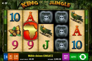 Start King of the Jungle