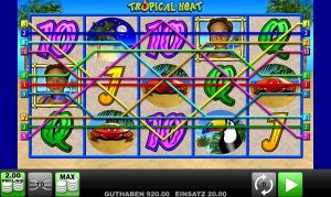 Start Tropical Heat Bild