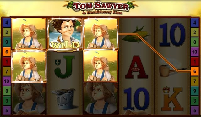 Tom Sawyer and Huckleberry Finn Gewinn