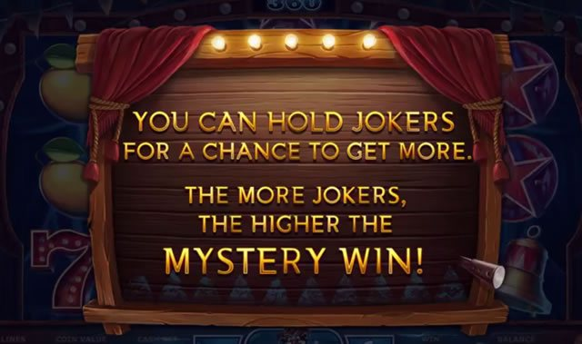 Wicked Circus Mystery Win