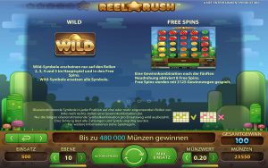 Wild - Free-Spins Reel-Rush